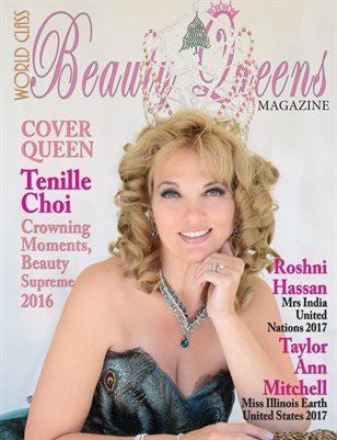 World Class Beauty Queens Magazine with Tenille Choi
