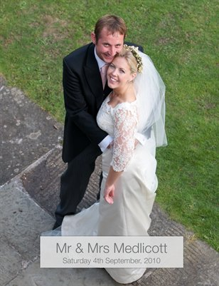 The Wedding of Mr and Mrs Medlicott