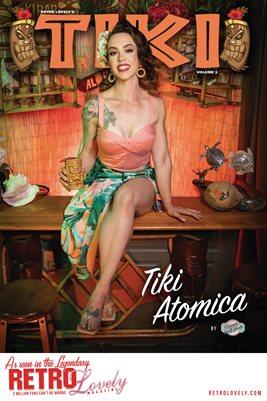 TIKI Volume 1 - Tiki Atomica Cover Poster