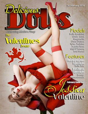 February 2014 Valentines Issue - Jessica Valentine Cover
