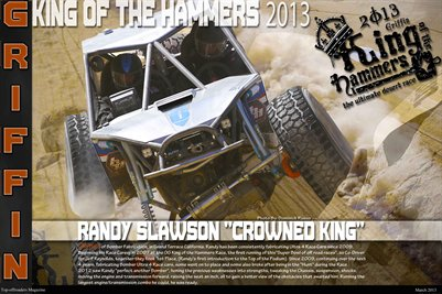 Randy Slawson King of The Hammers 2013 P.1-2