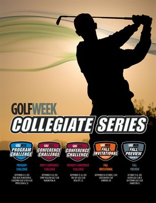 2012 Golfwek Collegiate Series Program