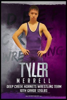 Tyler Merrell DC #2 Poster