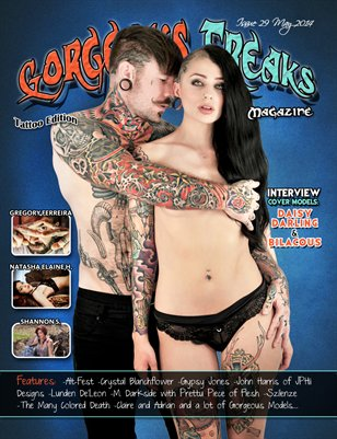 Issue 29 Cover Models: Daisy Darling & Bilacous
