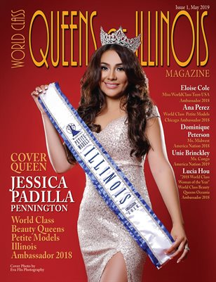World Class Queens of Illinois Magazine Issue 1 with Jessica Padilla Pennington