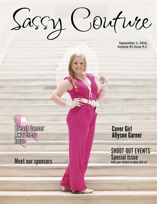 Sassy Couture Magazine Volume One Issue #9.2