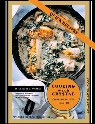 Cooking with Crystal - Quick Recipe Cookbook