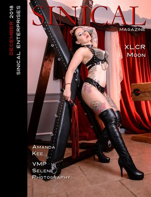 Sinical Magazine December 2018 issue - XLCR Moon cover edition