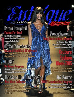 Entrigue Magazine April 2015 (Naomi Campbell)