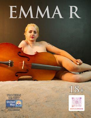 Emma R - Blonde Boudoir Babe & a Music Guitar | Bad Girls Club