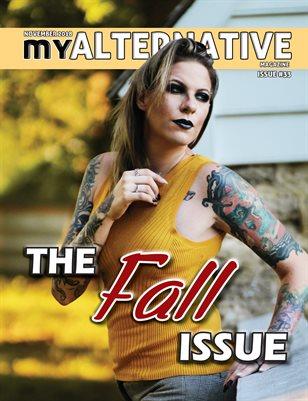 MyAlternative Magazine Issue 33 November 2018