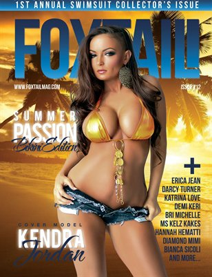 FOXTAIL Magazine Issue #12 | Kendra Jordan Cover
