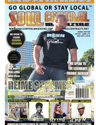 Soul Central Magazine #Edition #72 Indie Artist Reime Schemes
