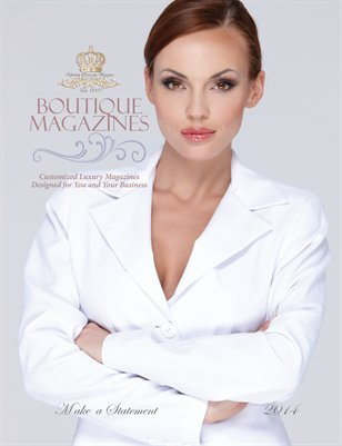 Custom Luxury Magazines - Women's Version