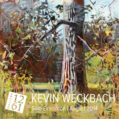 Kevin Weckbach Solo Exhibition August 2014