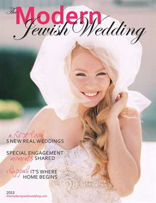 The Modern Jewish Wedding 2013