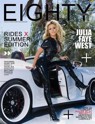 Julia Faye West / Shon Jea cover- rides x summer issue