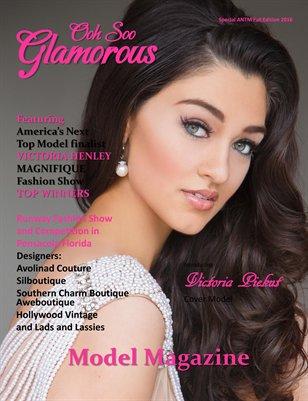 Ooh Soo Glamorous Model Magazine ANTM Fall Edition 2016