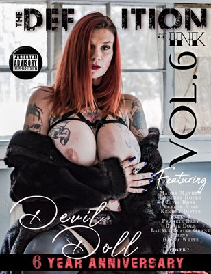 TDM:INK 6yr Anniversary Devil Doll Vol.6 Cover 2