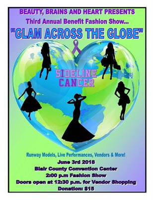"2018 ""Glam Across The Globe"" Benefit Fashion Show"
