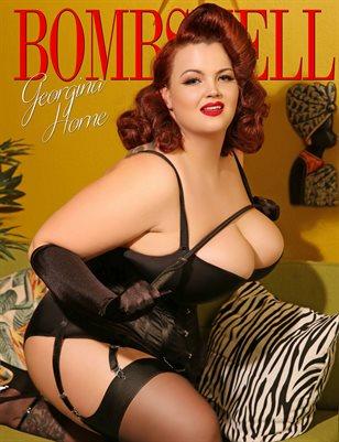 BOMBSHELL Magazine June 2018 - BOOK 1 Georgina Horne Cover