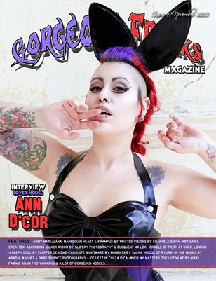 Issue 47 Cover Model: Ann d'Cor