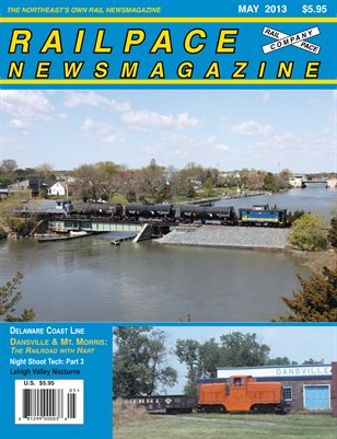 May 2013 Railpace Newsmagazine