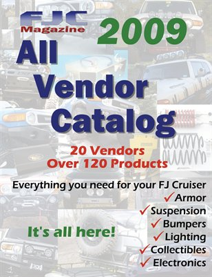 2009 All Vendor Catalog