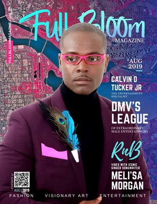 Edition 17 Full Bloom Magazine Calvin D Tucker Jr Cover