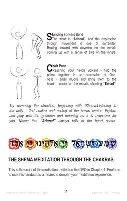 Shema Meditation Through the Chakras   MagCloud