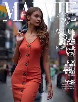 MALVIE Mag The Artist Edition Vol 79 December 2020