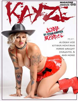 kayze magazine (jenna monroe ) issue 6