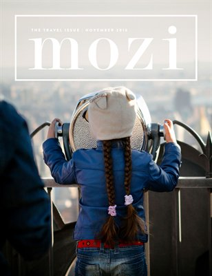 Mozi Magazine, November 2016, Travel