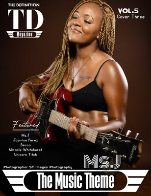 The Definition of music: Ms.J Vol.5 Cover 3
