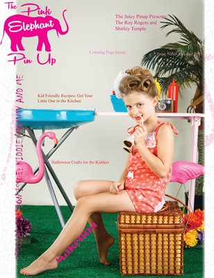 The Pink Elephant Pinup Magazine Issue Nine