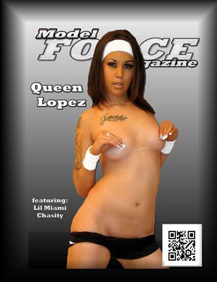 Model FORCE Magazine Queen Lopez August 2014 Issue
