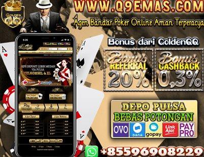 Q9EMAS.COM Agen Domino99 Terbaik dan Terpercaya