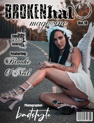 Broken Halo Magazine Vol.18 Featuring Brooke O'Neil