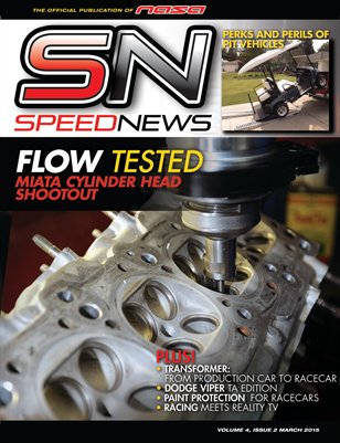 NASA SPEED NEWS MARCH 2015