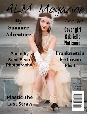 "ALM Child-Teen Magazine, Issue 94,Vol.2 "" Most Beautiful, October 2018"