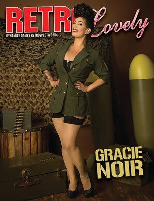 Dynamite Dames Retrospective Volume 1 – Gracie Noir Cover