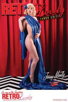 Jenny Mostly Taboo Cover Poster