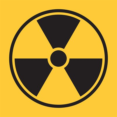 "Radioactive (Small 8x8"" Sign)"