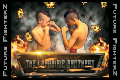 The LaPrairie Brothers Poster
