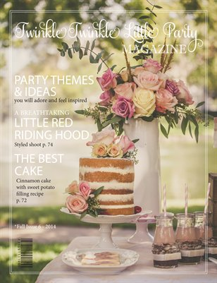 Twinkle Twinkle Little Party Magazine - Fall Issue 6