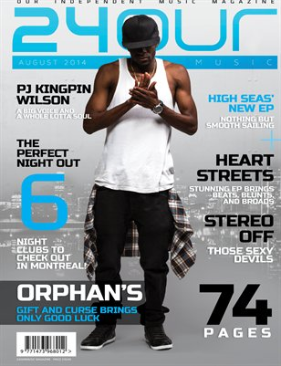 24OurMusic Magazine - August 2014