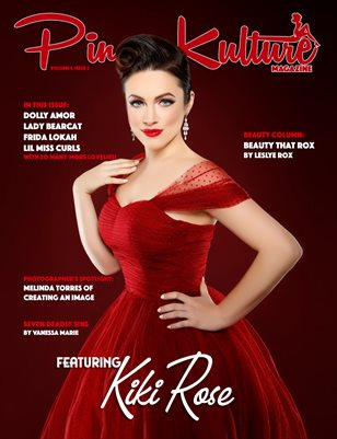 Pinup Kulture Magazine Volume 3, Issue 3