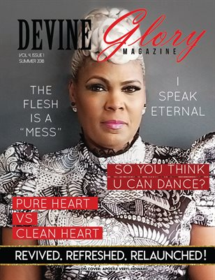 Devine Glory Magazine Summer 2018