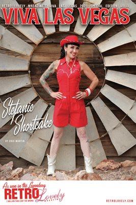Viva Las Vegas 2021 Special Edition Volume 1 Stefanie Shortcake Cover Poster
