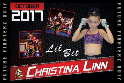 Christina Linn Cal Poster 2017